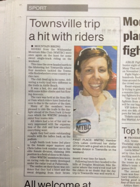 Whitsunday Times Article